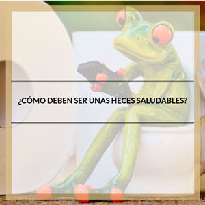 Heces saludables