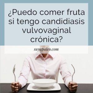 fruta y candidiasis